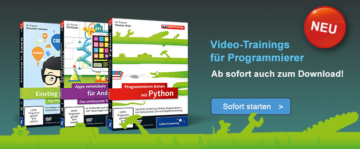 Neu: Video-Trainings zum Download