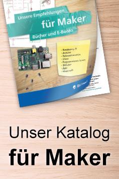 Maker-Titel im Rheinwerk Verlag