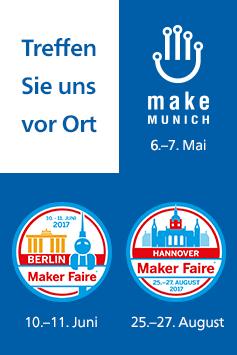 Rheinwerk Verlag auf Maker-Events