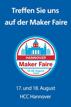 Rheinwerk auf der Maker Faire Hannover 2019