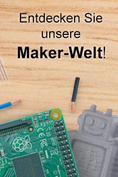 Maker-Bücher im Rheinwerk Verlag