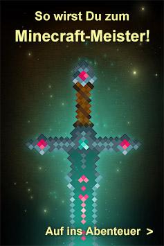 Minecraft-Bücher im Rheinwerk Verlag