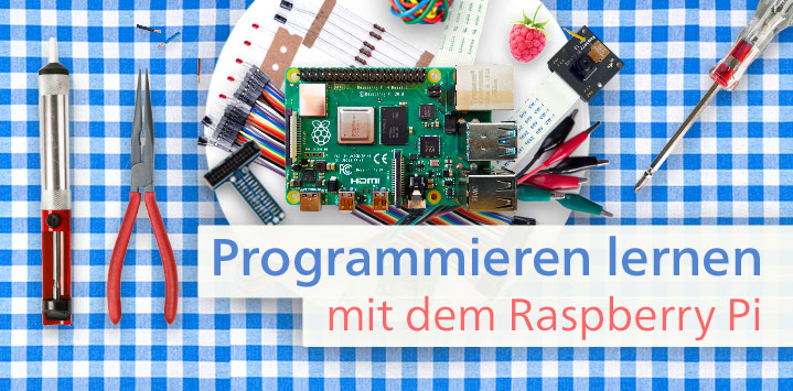 Infoseite Programmieren mit dem Raspberry Pi