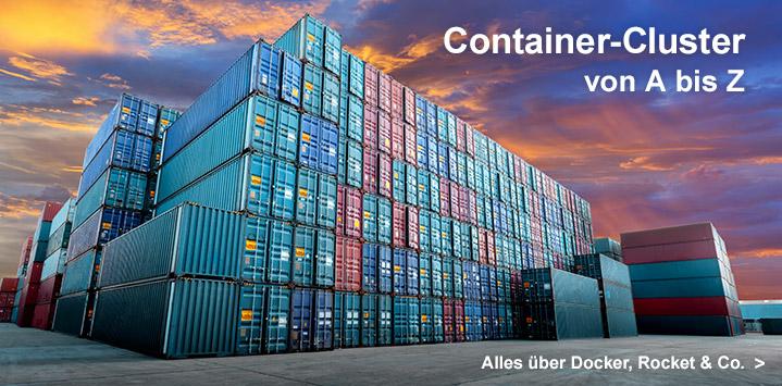Alles über Container-Infrastrukturen im Rheinwerk Verlag