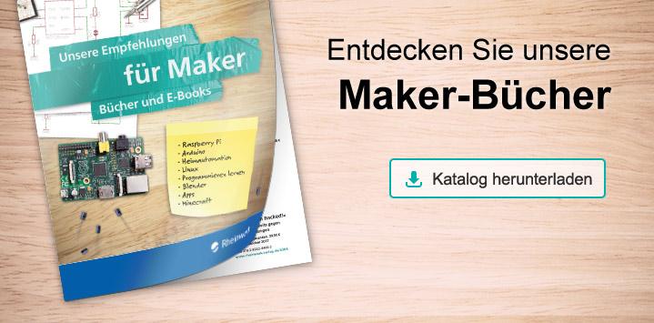 Das Maker-Programm im Rheinwerk Verlag