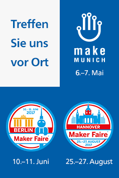 Der Rheinwerk Verlag auf Maker-Events