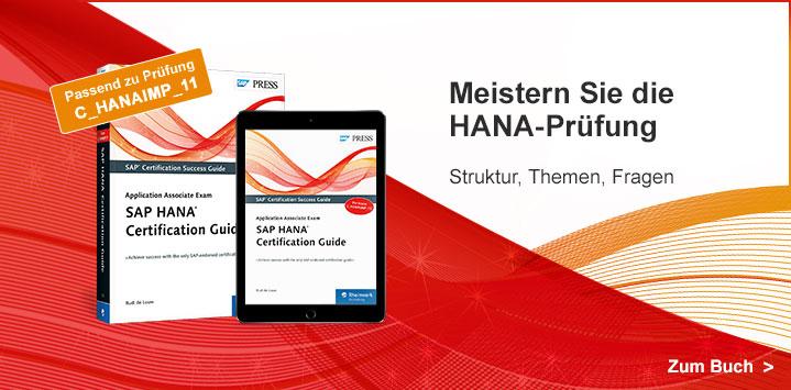 Meistern Sie die HANA-Prüfung C_HANAIMP_11 mit unserem SAP HANA Certification Guide