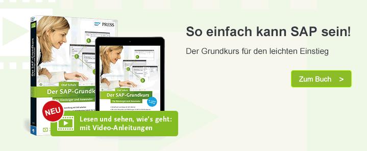 Grundkurs SAP