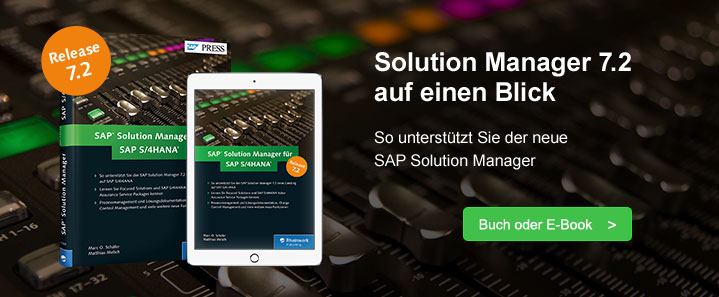 Solution Manager 7.2