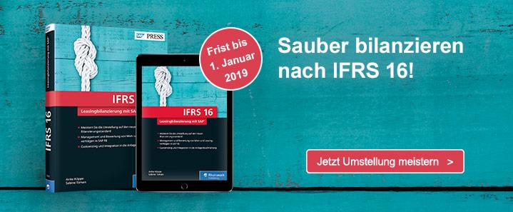 Bilanzieren nach IFRS 16