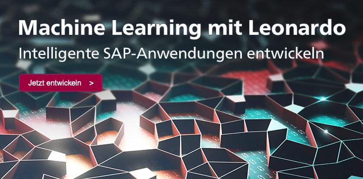 Machine Learning mit SAP Leonardo – Zum Buch