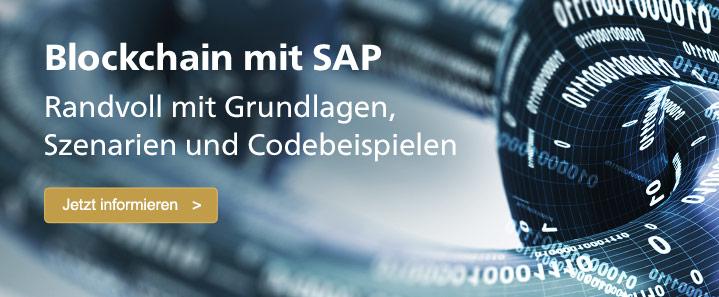 Blockchain mit SAP