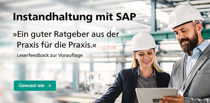 Instandhaltung mit SAP. Zum Ratgeber >
