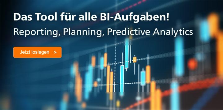 SAP Analytics Cloud: Das Tool für alle BI-Aufgaben. Jetzt informieren >