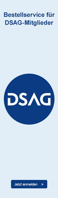 Online-Bestellservice für DSAG-Mitglieder