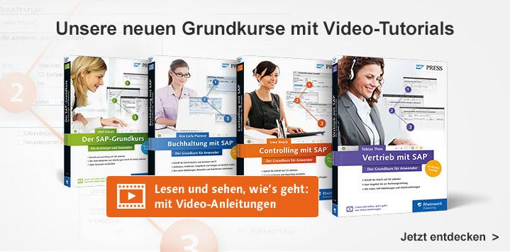 Unsere neuen Grundkurse mit Video-Tutorials für Einsteiger und Anwender