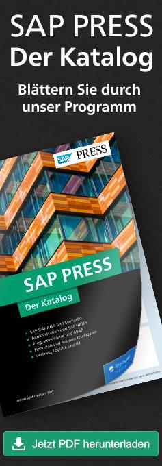 Blättern Sie durch unser Programm: Der aktuelle Katalog von SAP PRESS