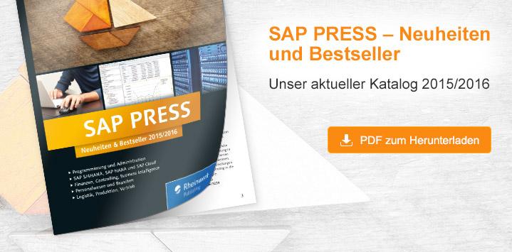 SAP PRESS – Neuheiten und Bestseller