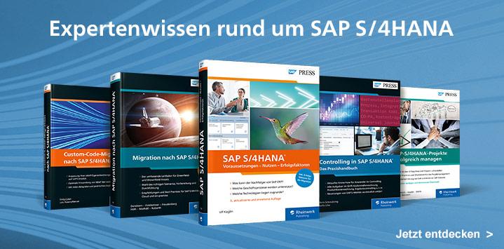 Expertenwissen rund um SAP S/4HANA