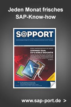 Jeden Monat frisches SAP-Know-how