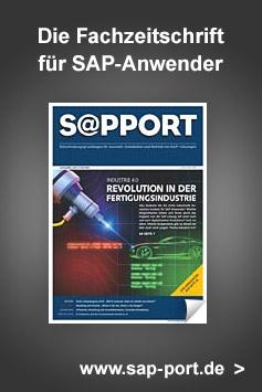 S@PPORT – Die Fachzeitschrift für SAP-Anwender