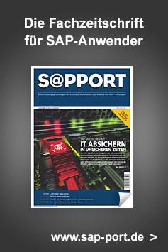 Die Fachzeitschrift für SAP-Anwender