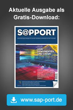 SAP-Fachzeitschrift: SAP-PORT diesen Monat als Gratis-Download