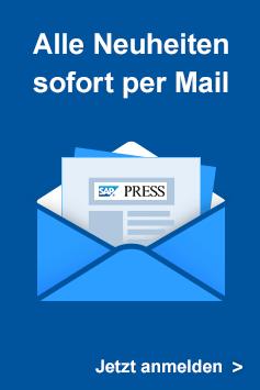 Newsletter - Alle Neuheiten sofort per Mail