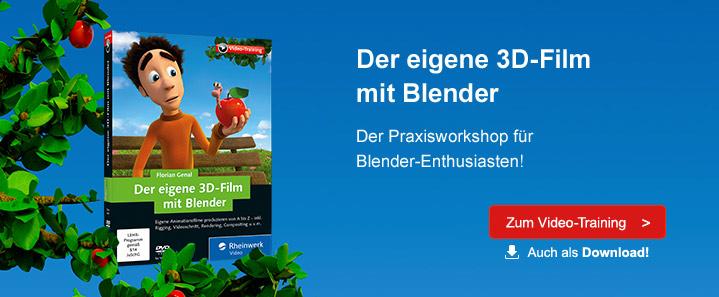 3D-Film mit Blender