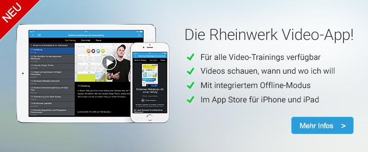 Die neue Video-App