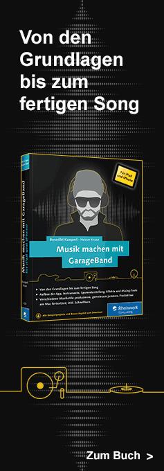 Musik machen mit GarageBand