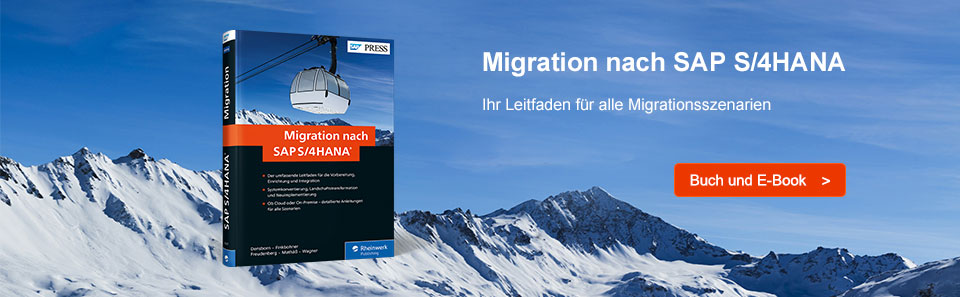 Migration nach S/4HANA