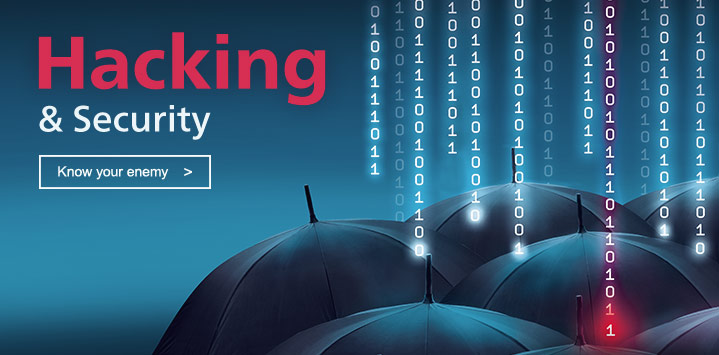 Zum Buch: Hacking & Security – Das umfassende Handbuch