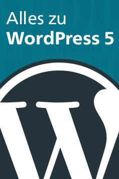 Zu unseren WordPress-Büchern