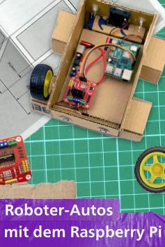 Zum Buch: Roboter-Autos mit dem Raspberry Pi
