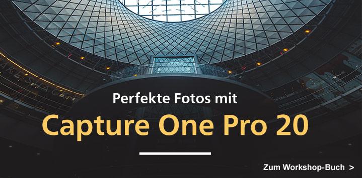Zum Buch: Capture One Pro 20 – Schritt für Schritt zu perfekten Fotos