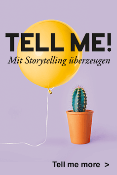 Zum Buch: Tell me! – Wie Sie mit Storytelling überzeugen
