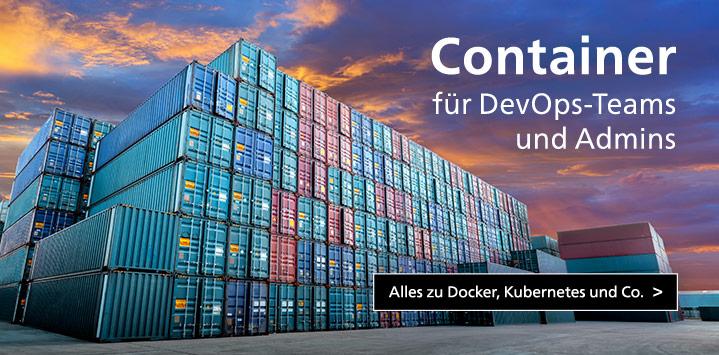 Container-Infrastrukturen