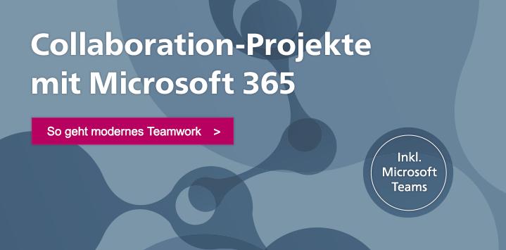Zum Buch: Collaboration mit Microsoft 365
