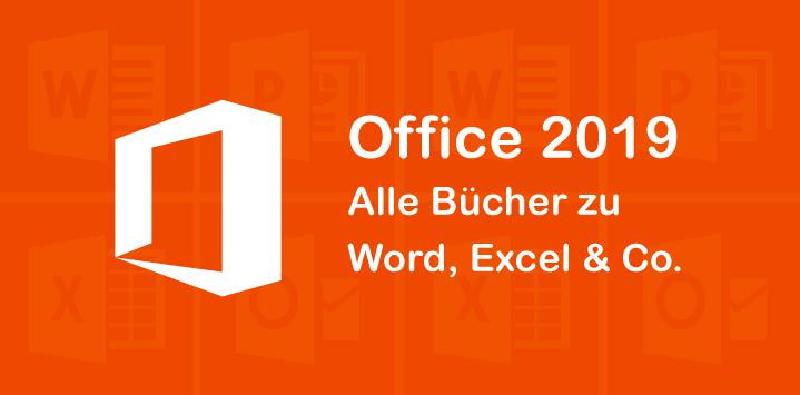 Unsere Bücher zu Office 2019