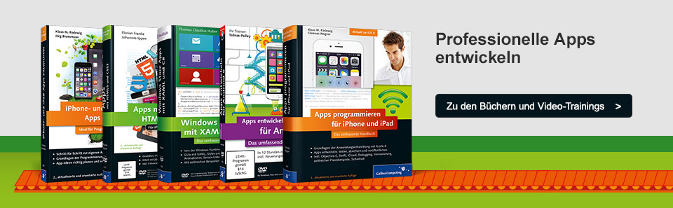 Professionelle Apps entwickeln