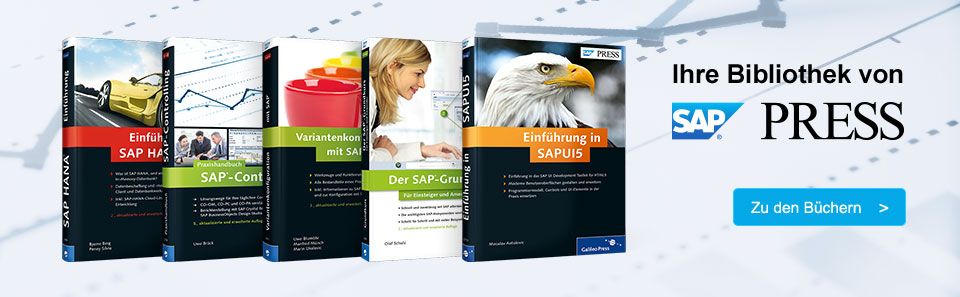 Die SAP PRESS-Bibliothek