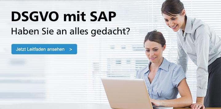 Zum Buch: Datenschutz mit SAP