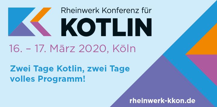 Zur Website der Rheinwerk Konferenz für Kotlin