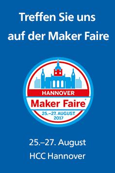 Rheinwerk auf der Maker Faire Hannover 2017