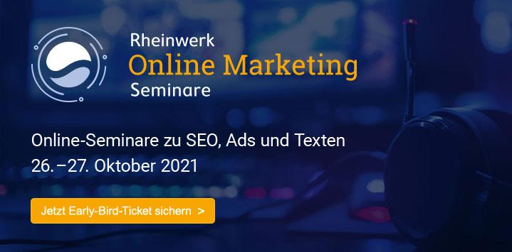 Die neuen Online-Seminare