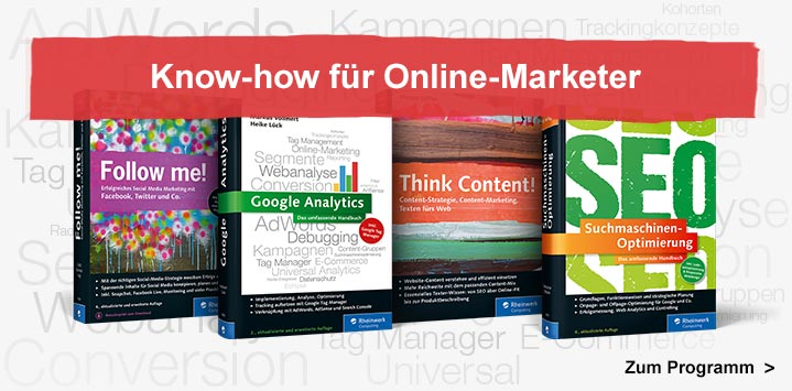 Know-how für Online-Marketer
