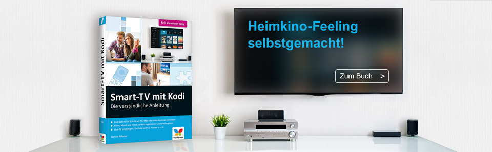 Smart-TV mit Kodi