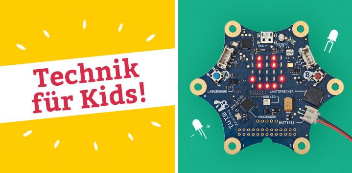 Technik für Kids: Programmieren lernen und basteln mit Calliope mini, Python, Swift Playgrounds und mehr