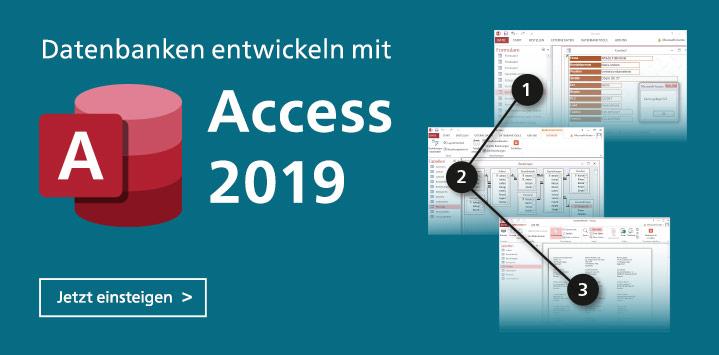 Access 2019. Einstieg und Handbuch